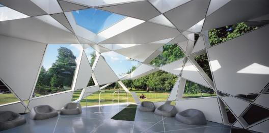 Pabellón del Serpentine Gallery. Imagen © Sylvain Deleu