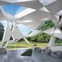 2002 Serpentine Gallery Pavilion. Image © Sylvain Deleu