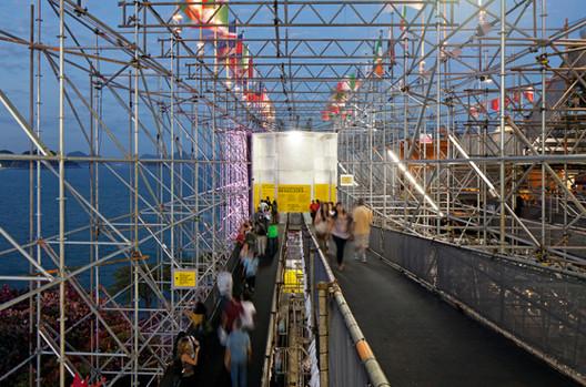 Pavilion Humanidade 2012; © Leonardo Finotti