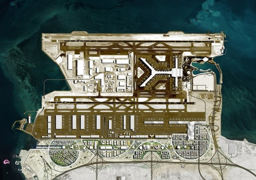 OMA Masterplans Airport City in Qatar