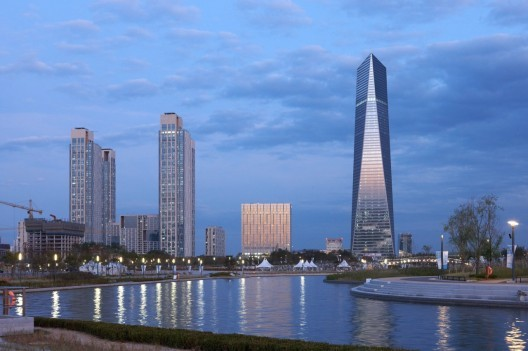 New Songdo, South Korea - a city built from scratch next to Incheon airport. © H.G. Esch