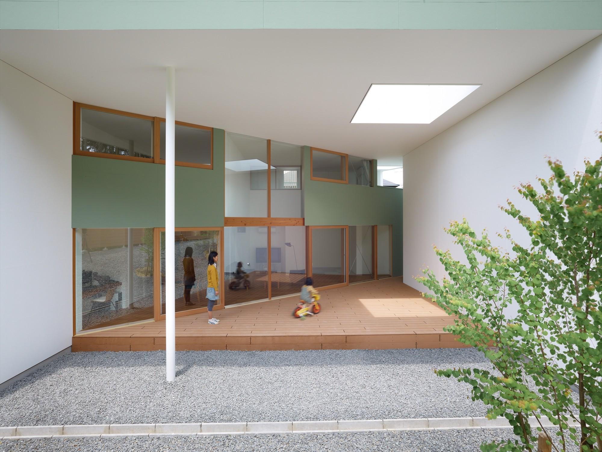 House in Kawachinagano / Fujiwarramuro Architects, © Toshiyuki Yano