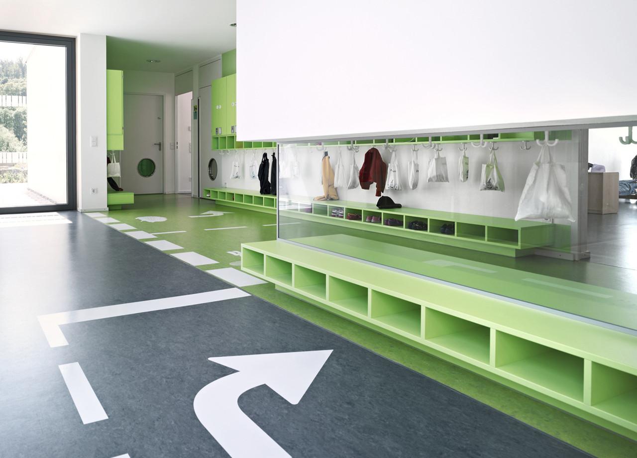 Gallery of kinderhouse arche noah liebel architekten bda 8 for Interior design colleges and universities