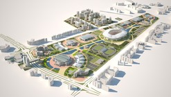Ashgabat Olympic Complex Proposal / Arup