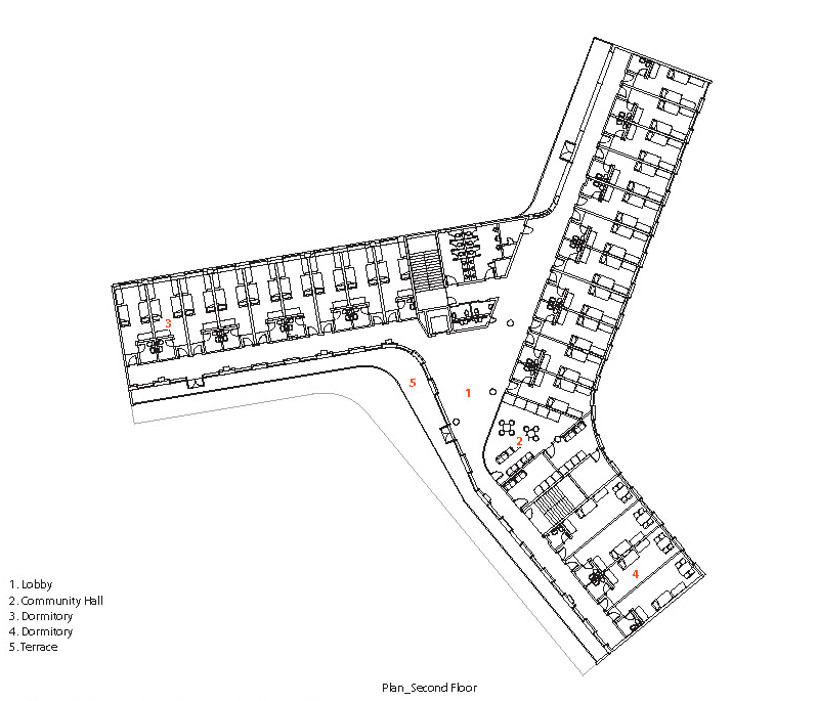 Gallery of art and crafts studios poly 42 for Arts and crafts floor plans