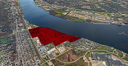 Aerial View, Fountainhead Quad Cities; Developer J. Paul Beitler of Beitler Real Estate Services