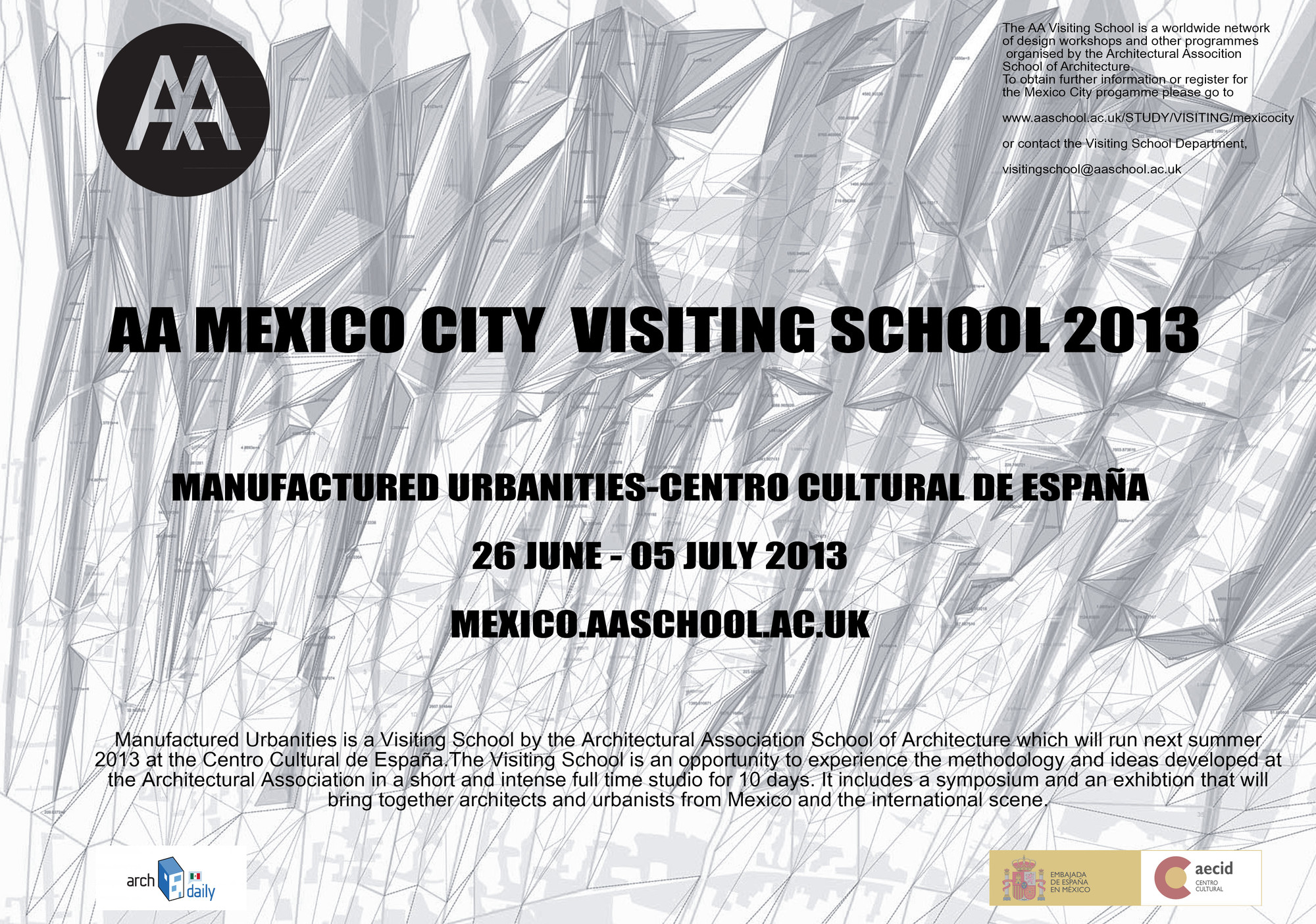 AA MEXICO CITY VISITING SCHOOL 2013: Manufactured Landscapes