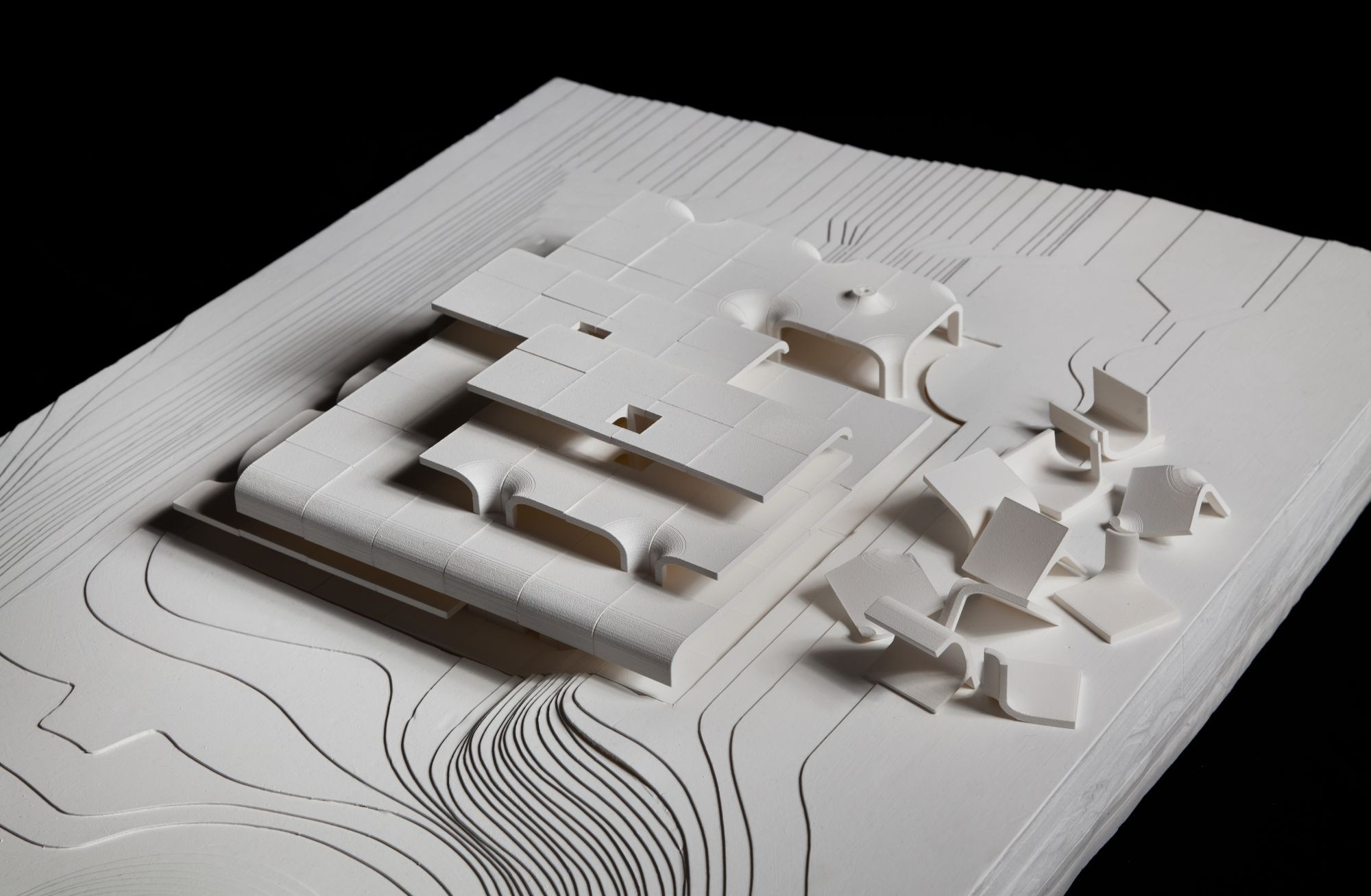 Gallery of daum space 1 mass studies 51 - Small spaces architecture model ...