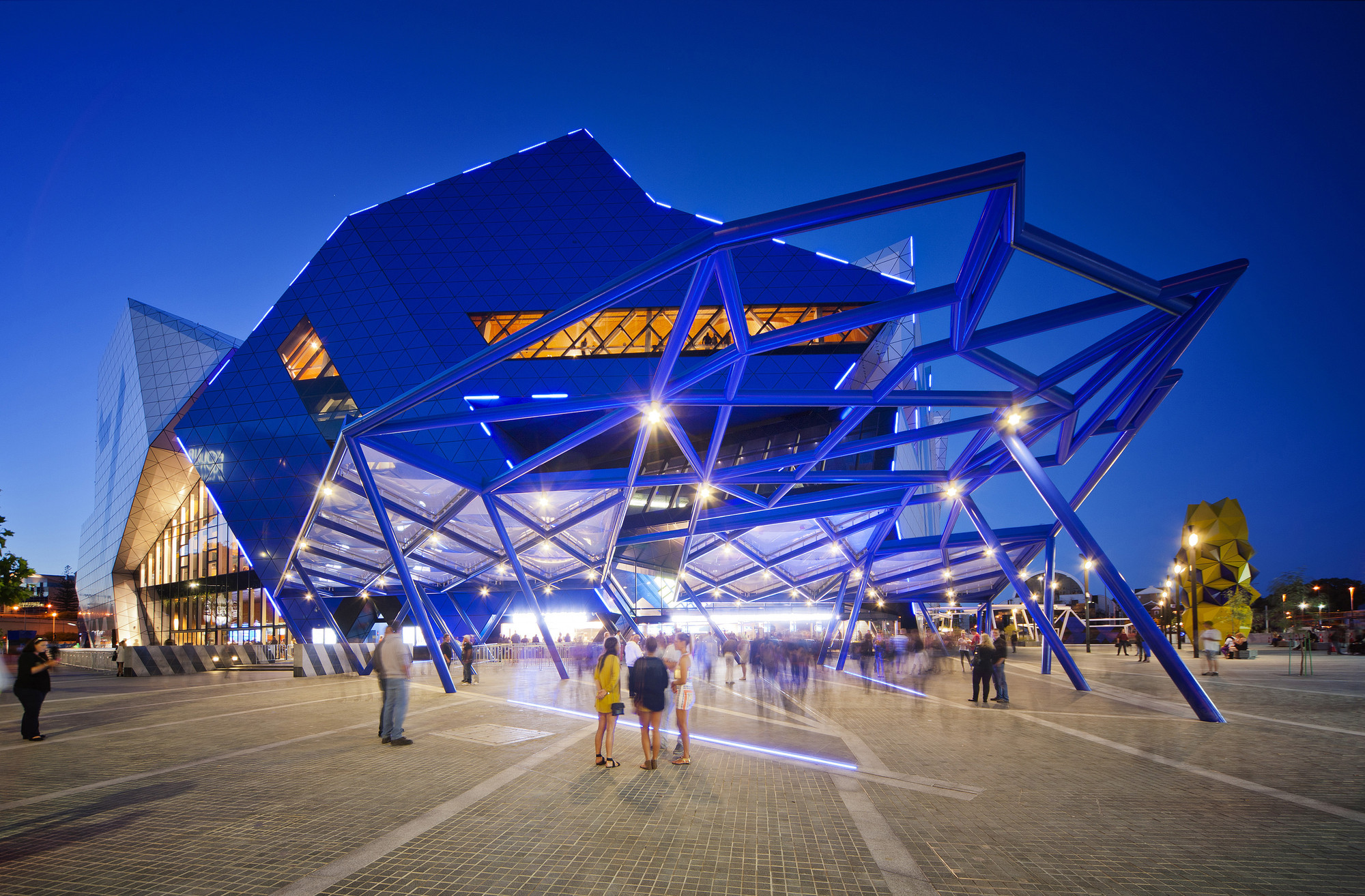 Perth arena arm architecture ccn archdaily for Australian architecture
