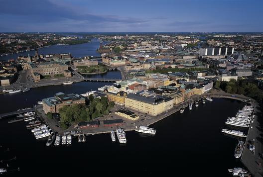 Blasieholmen, Estocolmo. ©Jeppe Wikström