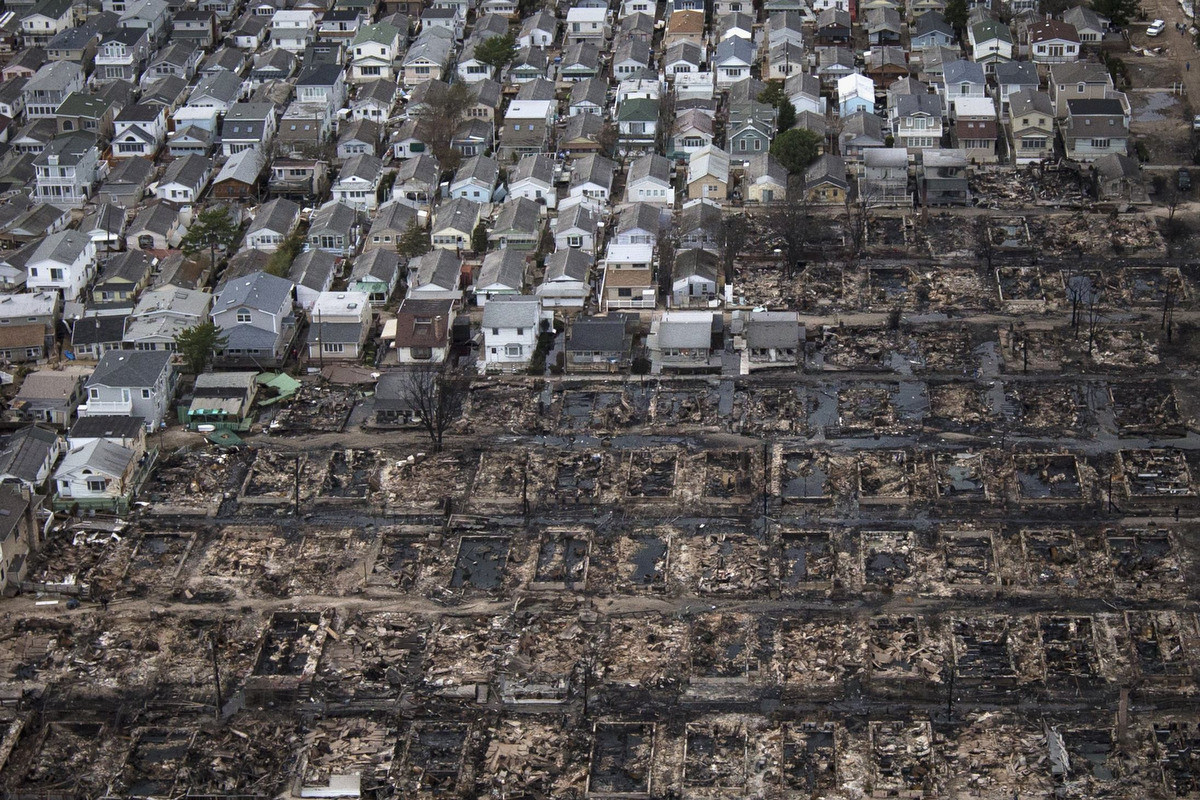 Courtesy of The Atlantic - Hurricane Sandy Aftermath