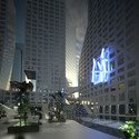 "Courtesy of dexigner.com - ""Light Pavilion"" at Chengdu Tower."