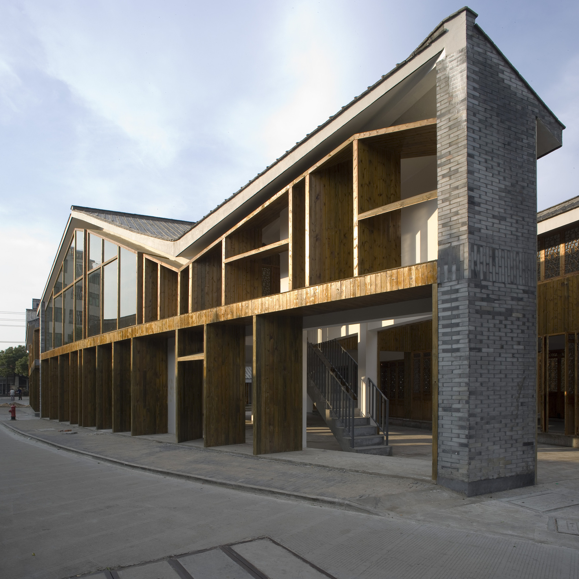 Park Block Renovation, Luqiao Old Town / TM Studio, Courtesy of TM Studio