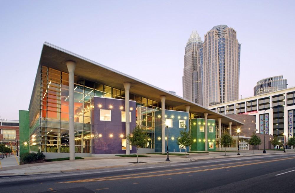Harvey B. Gantt, FAIA, Honored with the 2013 Whitney M. Young, Jr. Award, ImaginOn: The Joe and Joan Martin Center / Gantt Huberman Architects and Holzman Moss Bottino Architecture
