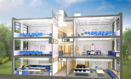 Britain's New Baseline School Design Sacrifices Style for Savings, Courtesy of Education Funding Agency