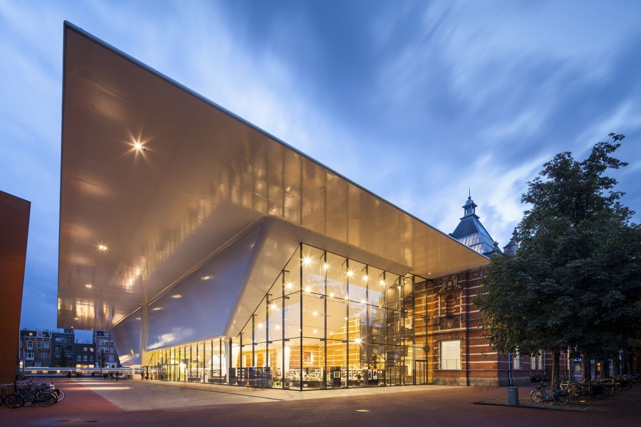 Stedelijk museum amsterdam benthem crouwel architects for Amsterdam museum