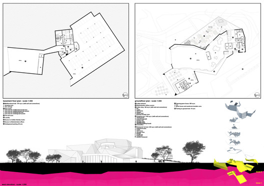 floor plans and elevation 03