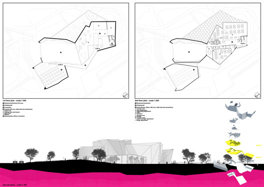 floor plans and elevation 01