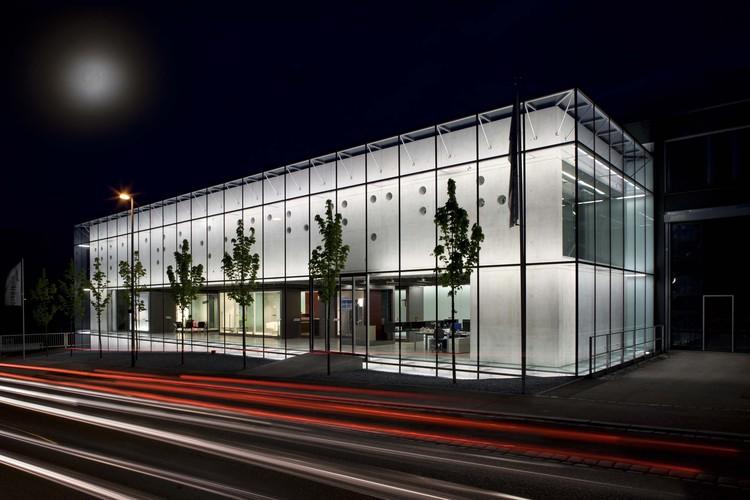 Competence Centre Glastroesch / becker architekten, Cortesía de becker architekten