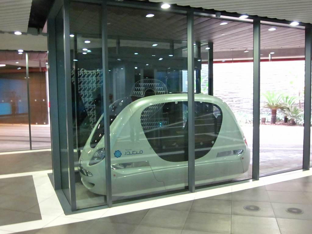 A Masdar podcar © Jan Seifert
