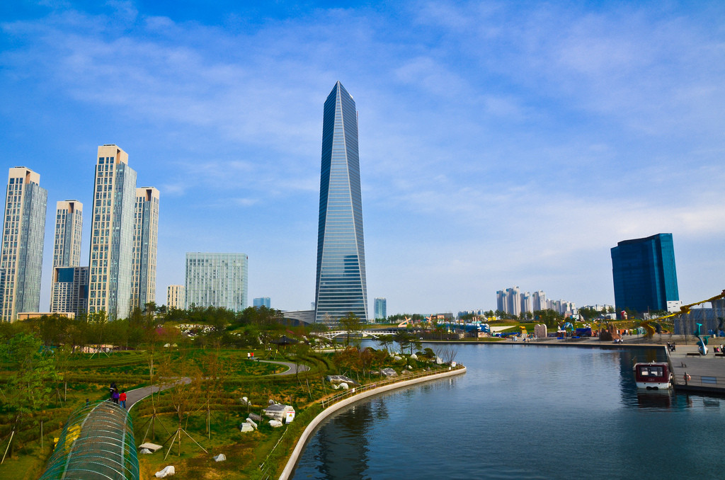 Songdo, South Korea © elTrekero