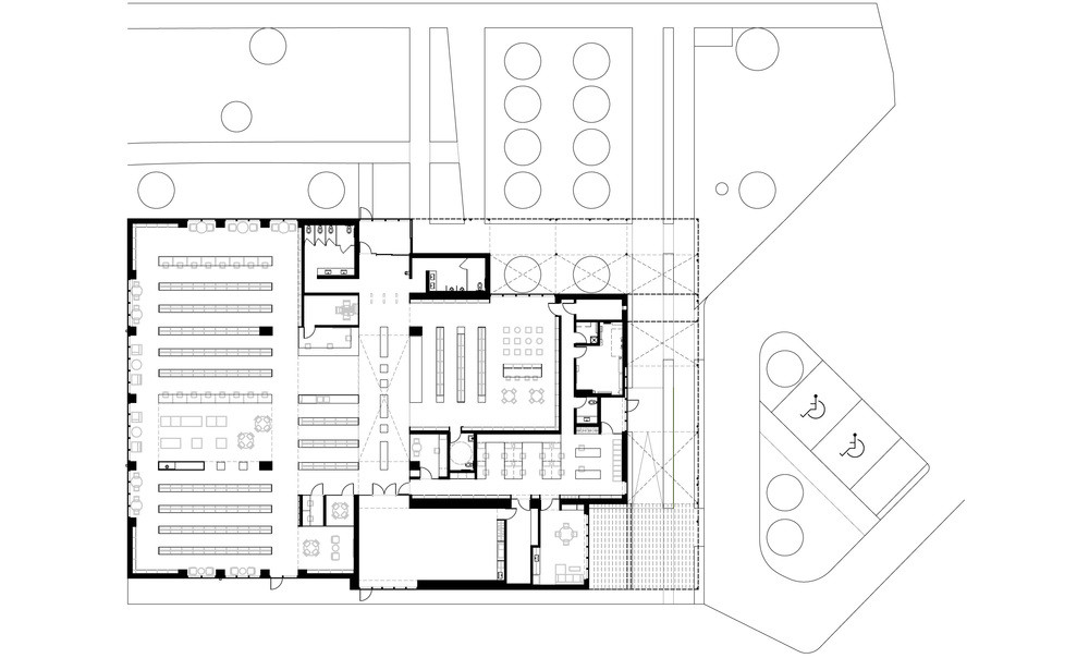 Gallery of the mississauga public library project rdh for Floor plan project