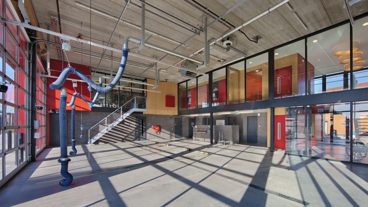 gallery of fire station van rooijen nourbakhsh
