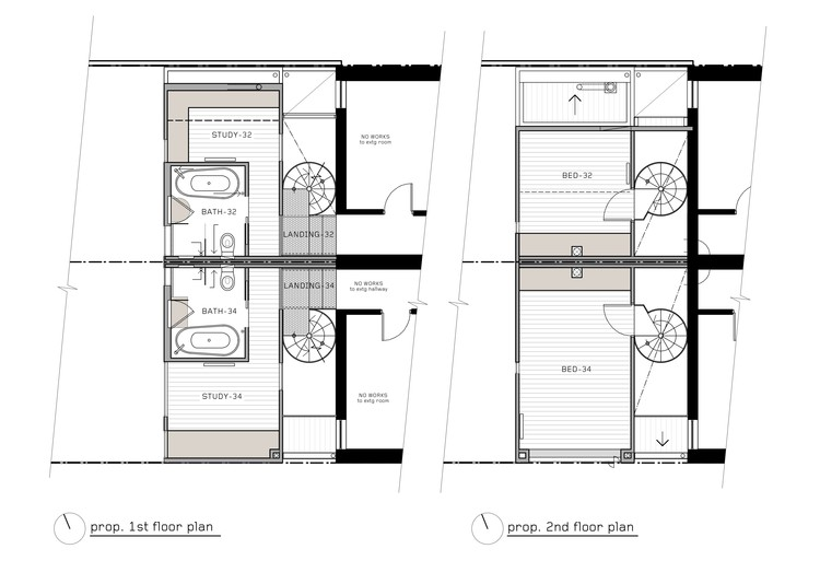 First & Second Floor Plan