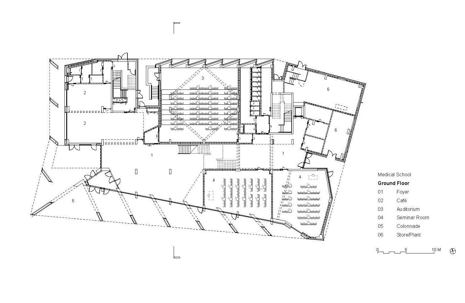 Sage Floor Plan Gallery Of University Of Limerick Medical School Grafton