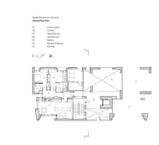 Student Housing Ground Floor Plan