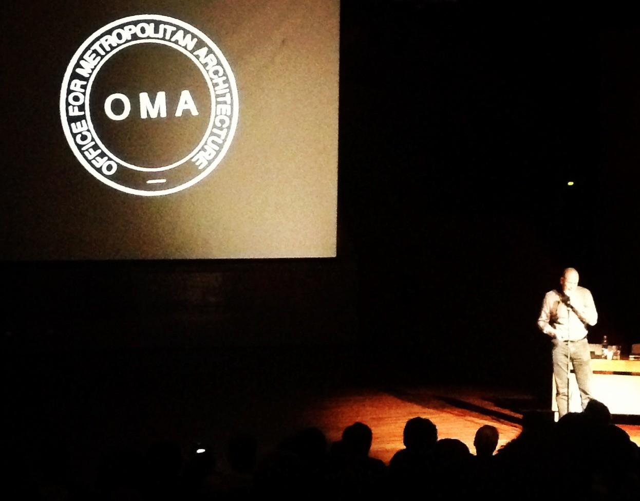 Charla Reinier de Graaf , partner de OMA y director de AMO