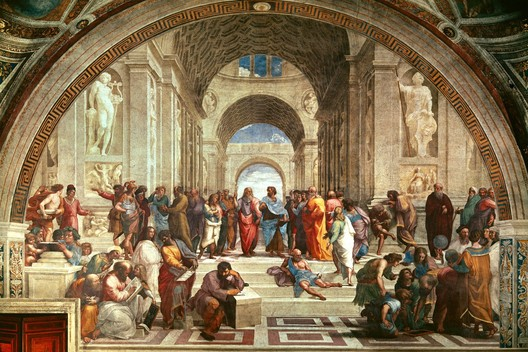 Raphael. The School of Athens. 1511.