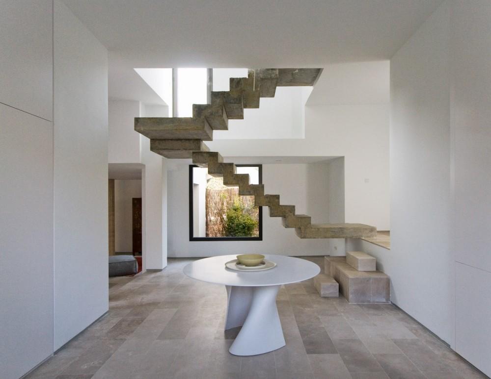 Archivo: Escaleras, © Cortesía de Ábaton Arquitectura