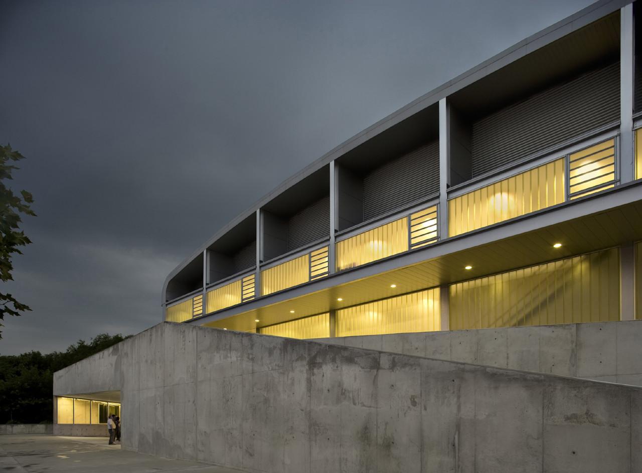 Pabellón Polideportivo Municipalidad de Utebo / Basilio Tobías, © Pedro Pegenaute