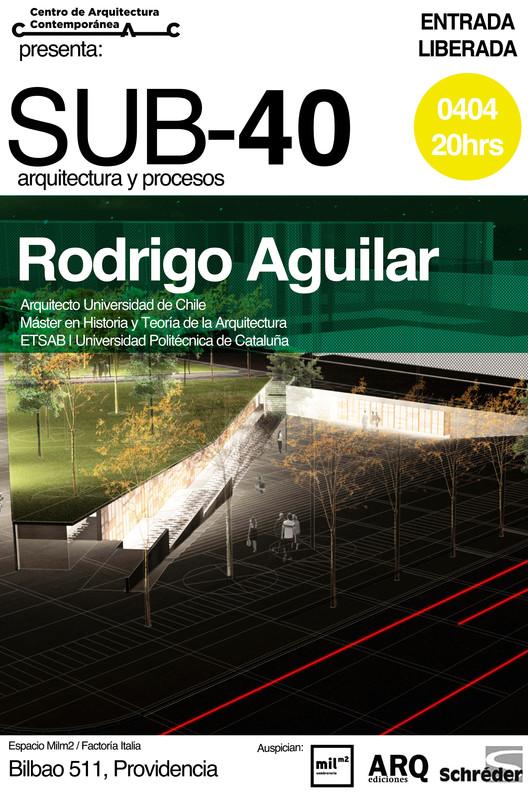 Charla SUB-40 arquitectura y procesos / Rodrigo Aguilar