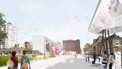 Das Band meiner Stadt (The Band of My City) Winning Proposal / da architecture