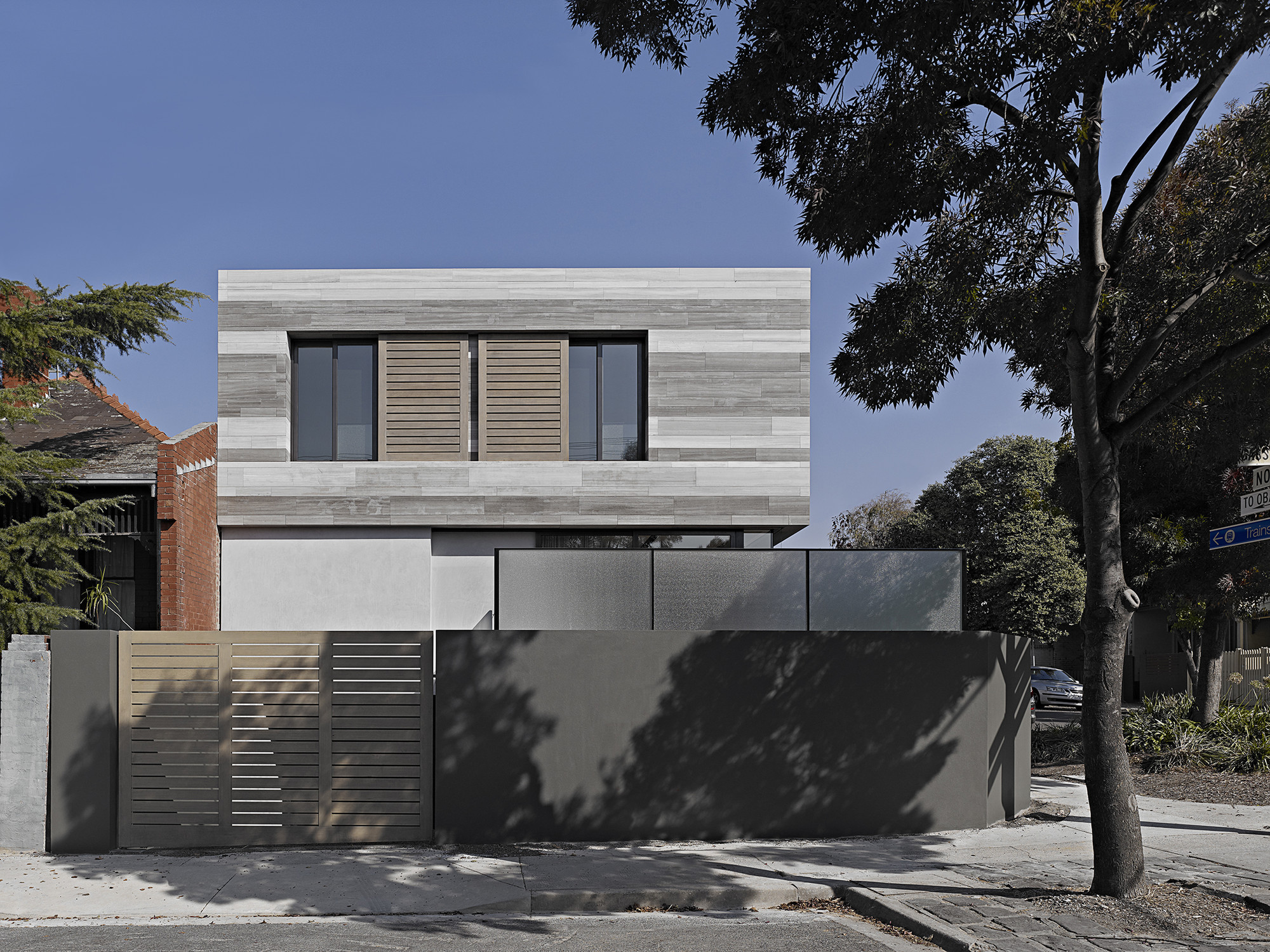 Cassell Street House  / b.e architecture, © Peter Clarke