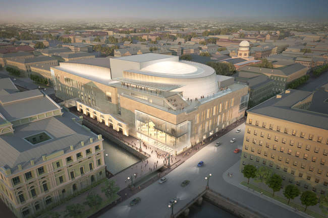 Russia's Historic Mariinsky Theatre to Celebrate Grand Opening of Mariinsky II, Courtesy of Diamond Schmitt Architects