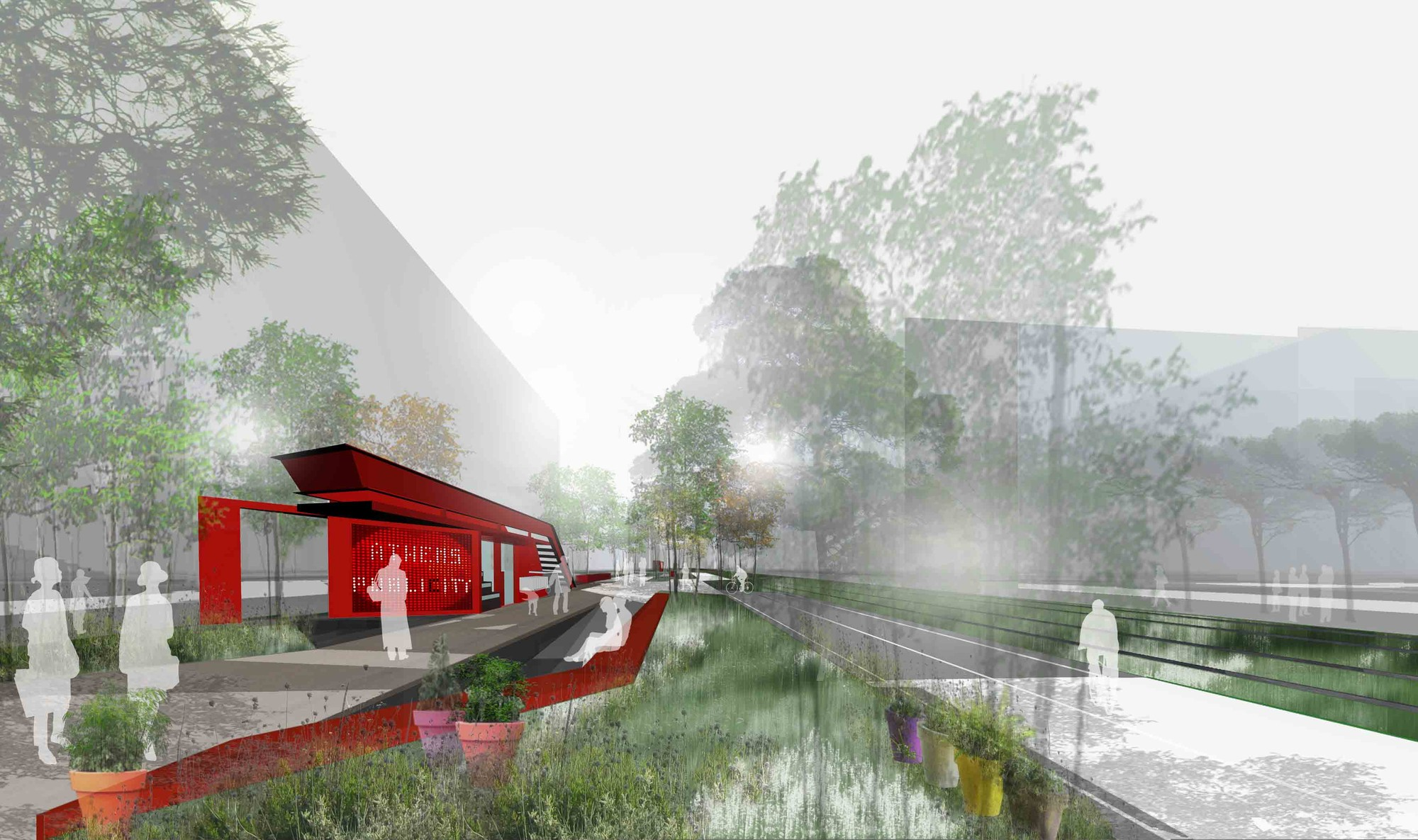 Re-Think Athens Competition Entry / Nikiforidis-Cuomo Architects, Courtesy of Nikiforidis-Cuomo Architects