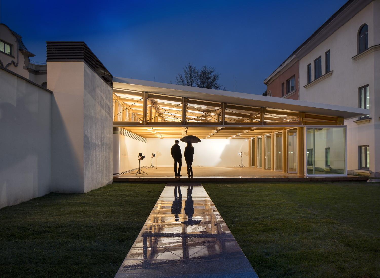 IE Paper Pavilion / Shigeru Ban Architects, © FG + SG