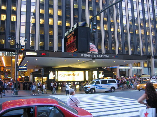 Penn Station via Wikipedia