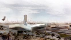 General Department of the Information System Competition Entry / AGi Architects + Bonyan Design