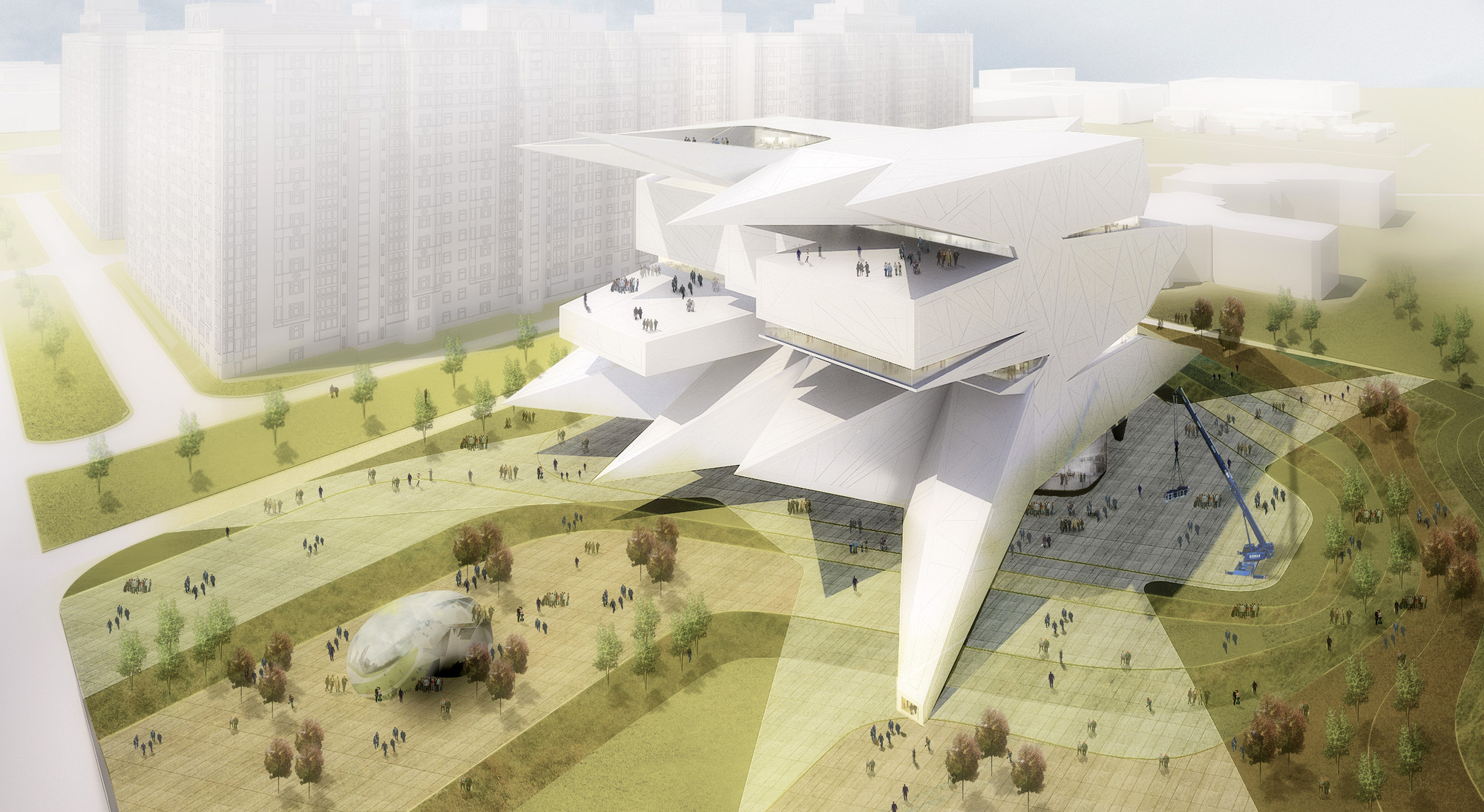 Moscow Polytechnic Museum - Education Center Proposal / Leeser Architecture, Courtesy of Leeser Architecture