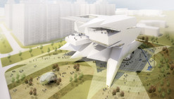 Moscow Polytechnic Museum - Education Center Proposal / Leeser Architecture