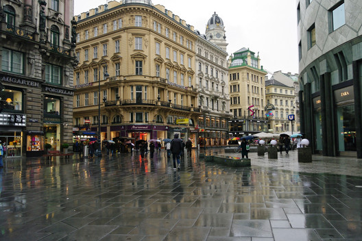 Vienna, the city with the best quality of life in the world.