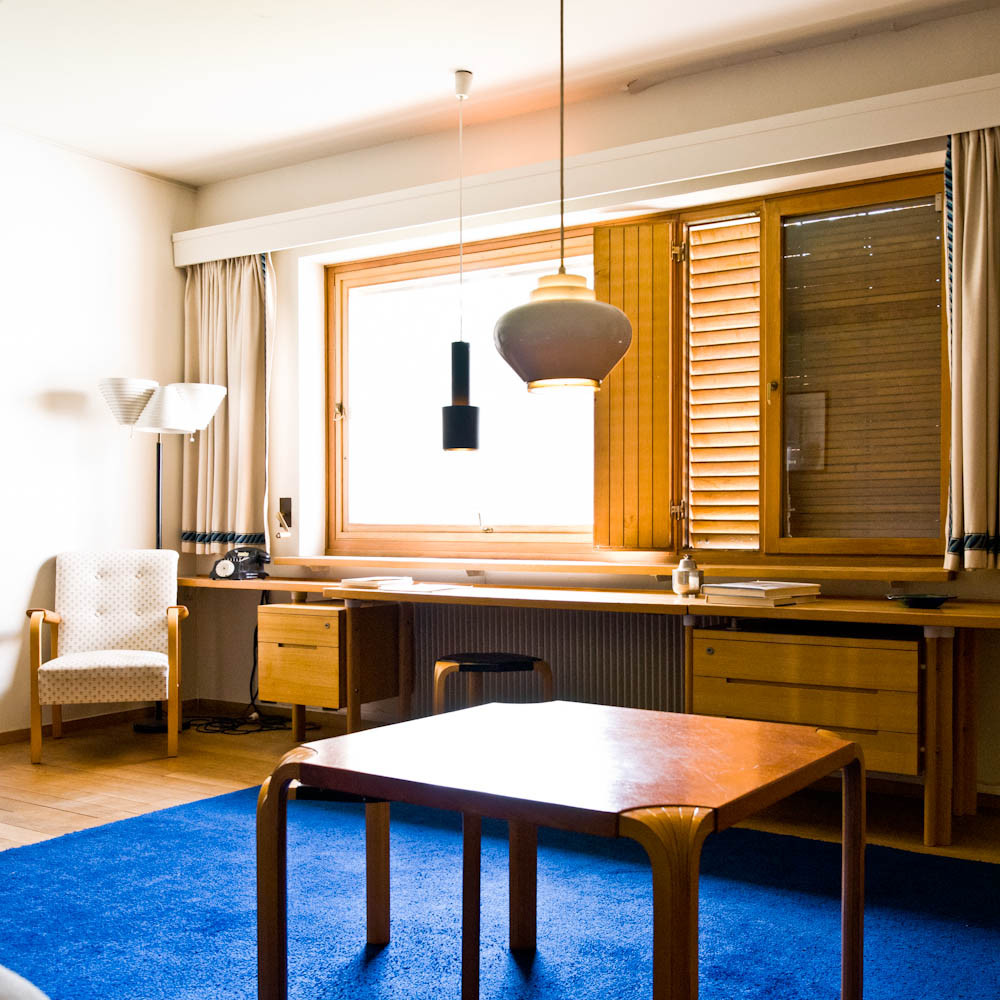 Gallery of ad classics maison louis carr alvar aalto 10 for Carre maison