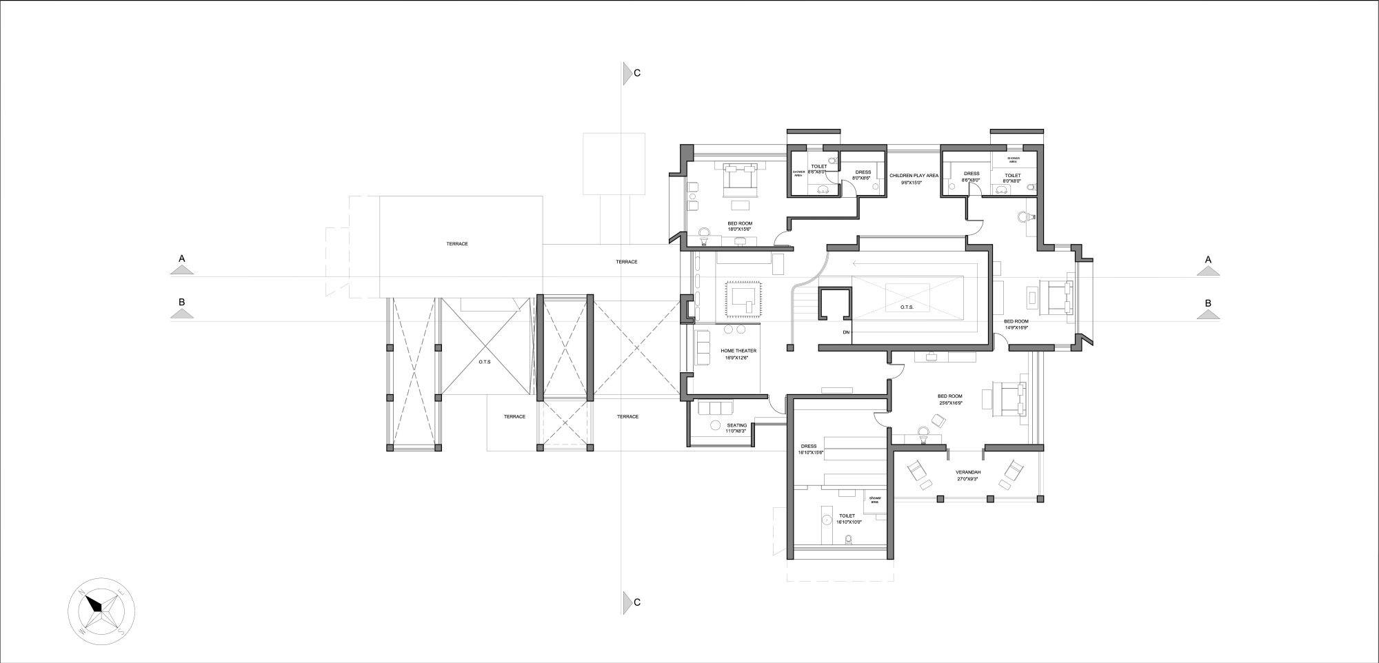 Gallery of the brick house hiren patel architects 20 - Maison courtyard hiren patel architects ...