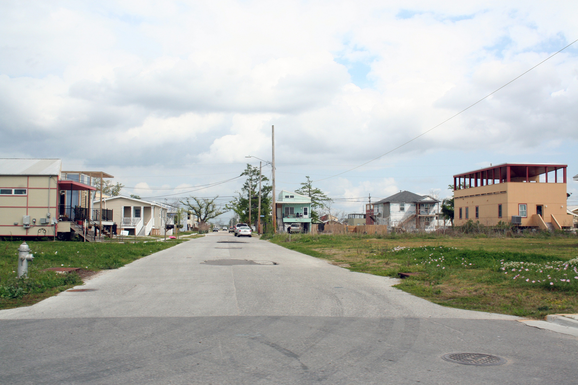 Lower Ninth Ward, New Orleans © Irina Vinnitskaya
