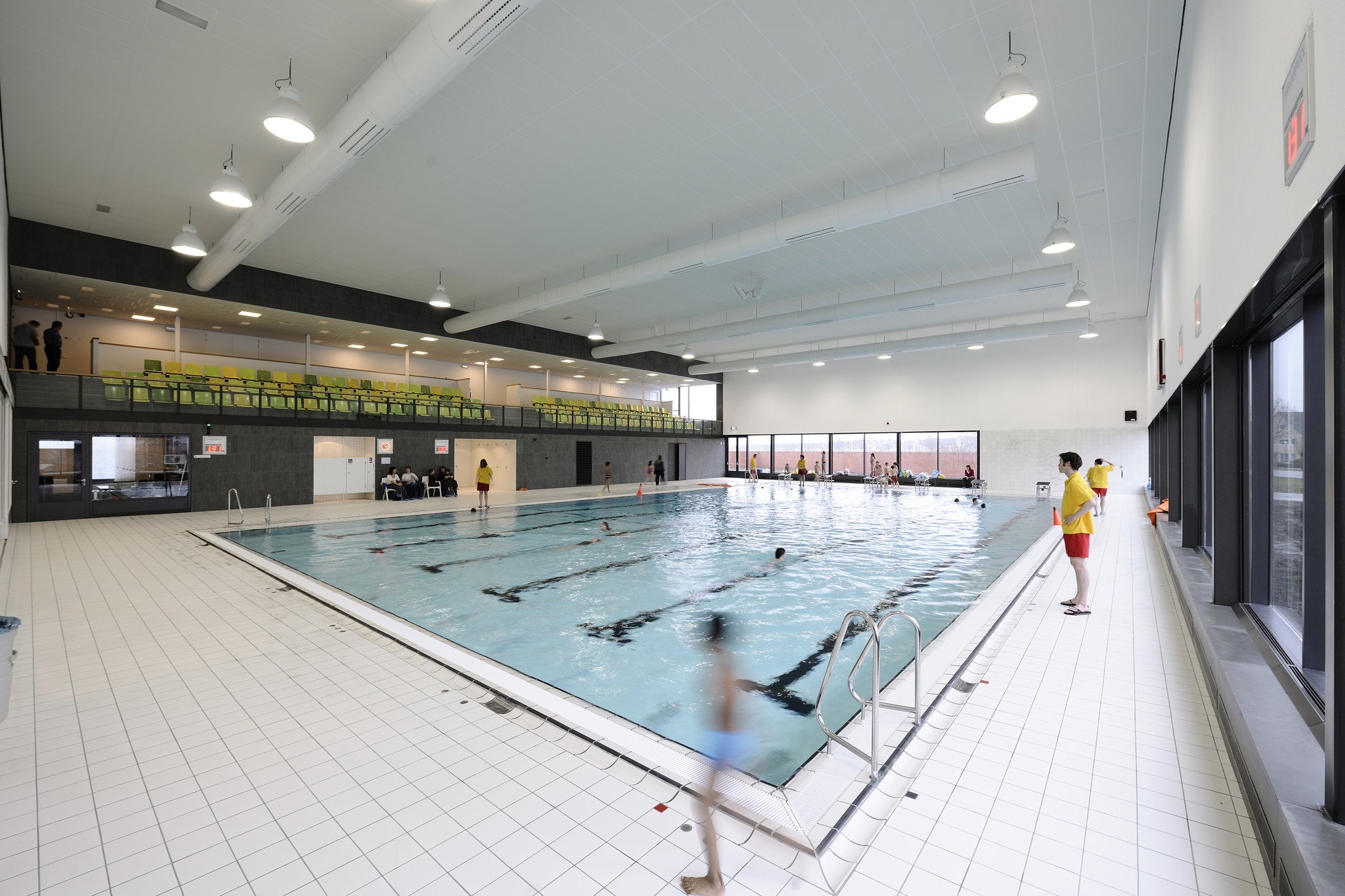 Swimming Pool Architects : Gallery of fletiomare utrecht swimming pool slangen