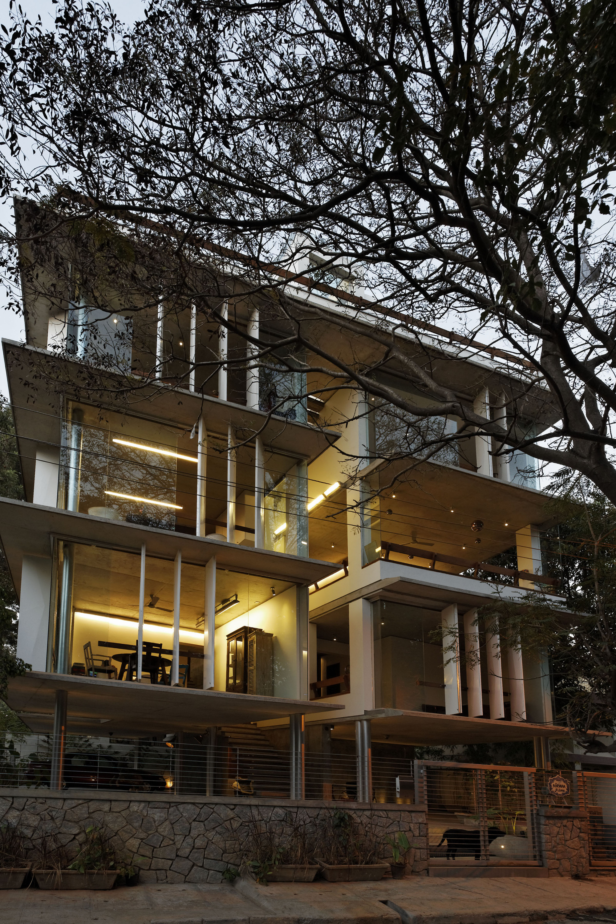 Gallery of nirvana film office sjk architects 1 for Design4 architects bangalore